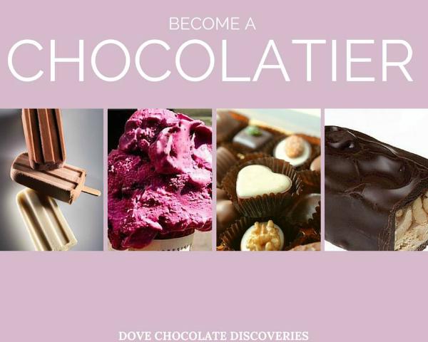 Be a Dove Chocolatier