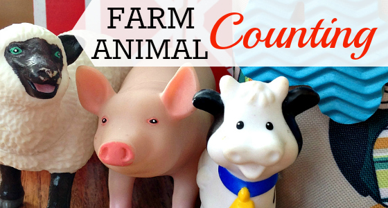Farm Animal Counting Slider