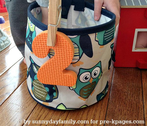 Preschool Farm Theme Sorting Animals Activity