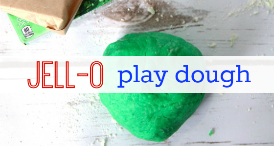 Classroom Recipes: Jello Play Dough