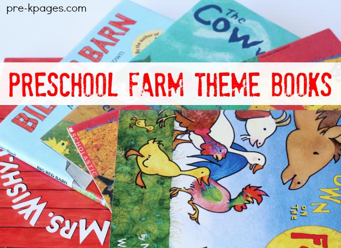 Preschool Books About the Farm