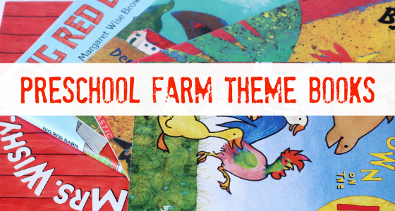 Preschool Farm Theme Books