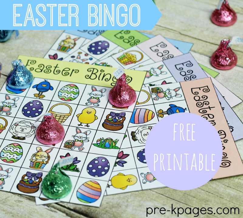 picture about Free Printable Easter Bingo Cards called Printable Easter Bingo Video game