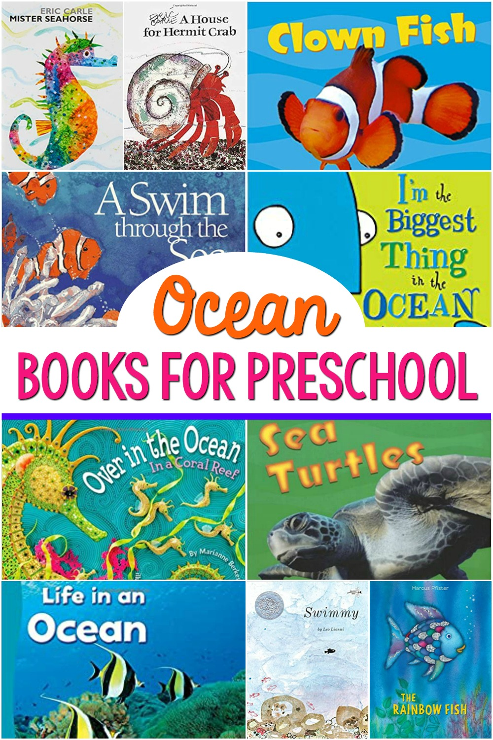 Best Ocean Books for Preschool