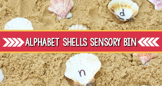 Seashell Alphabet Activity