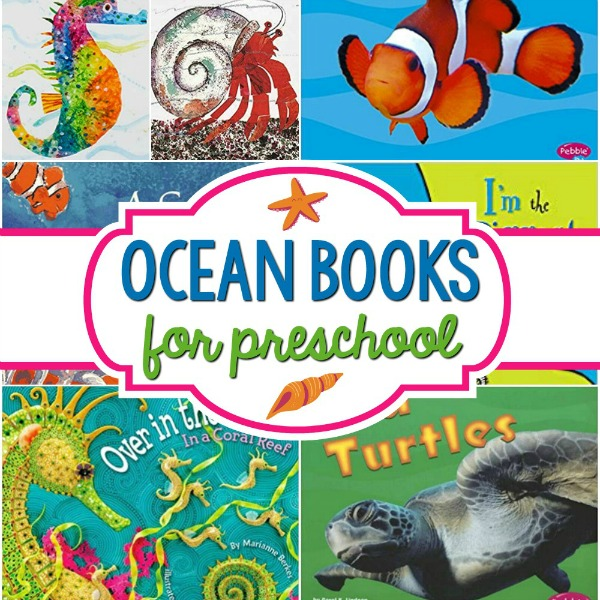 Ocean Books for Preschool