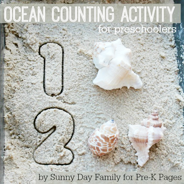 Ocean Counting Activity preschool