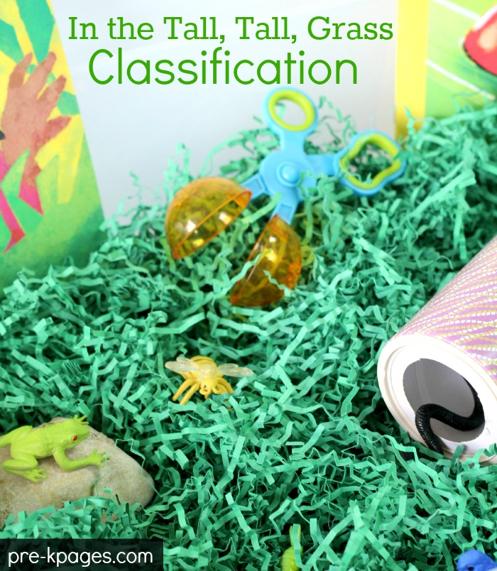 In the Tall, Tall Grass Classification Activity and Printable