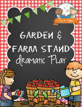 Dramatic Play Garden Printable