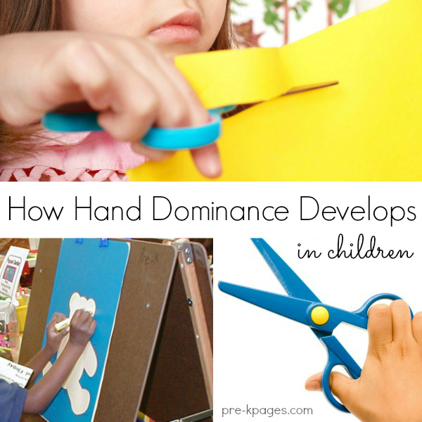 How Hand Dominance Develops in Children