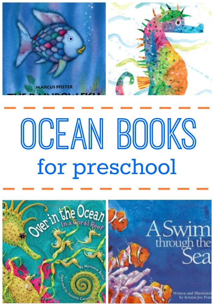 Ocean Books for Preschool