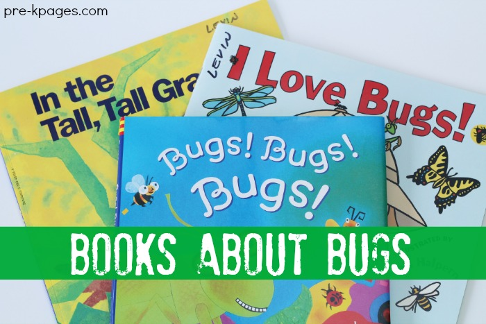 Preschool Picture Books About Bugs