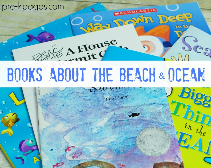 Preschool Books About the Ocean