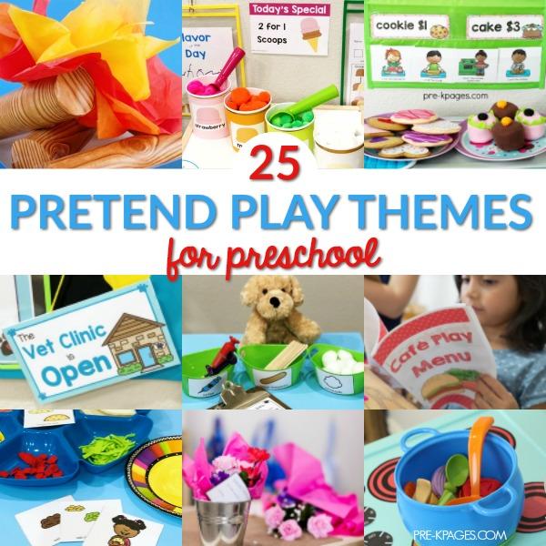 25 Dramatic Play Themes for Preschool