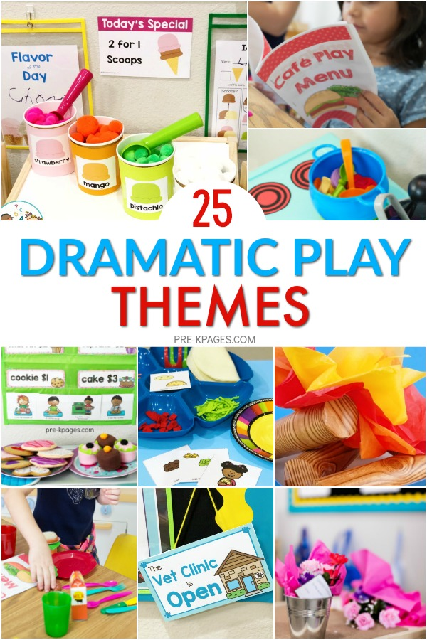 25 Dramatic Play Themes for Preschoolers