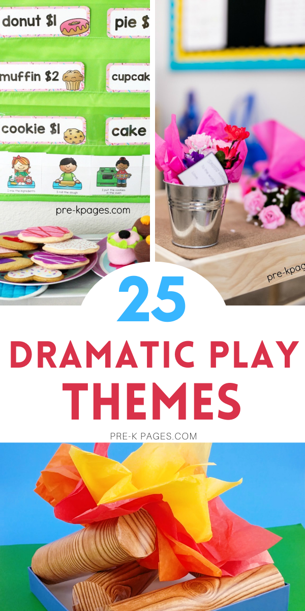 25 Dramatic Play Themes