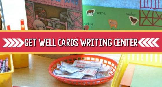 Farm Book Activity: Get Well Card Center