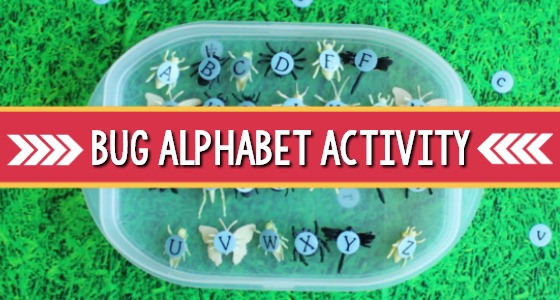 Insect Alphabet Letters Matching Game