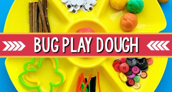 Bug Play Dough Activity