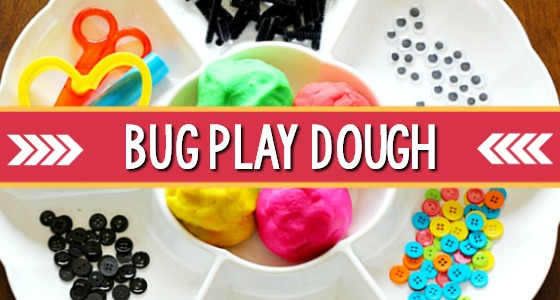 Bug Play Dough Tray
