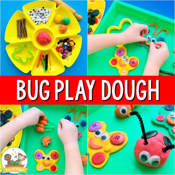 Butterfly Play Dough Activity