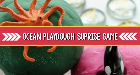 Ocean Animal Play Dough Activity