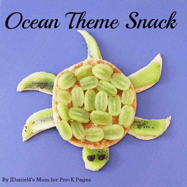 Ocean Theme Snack