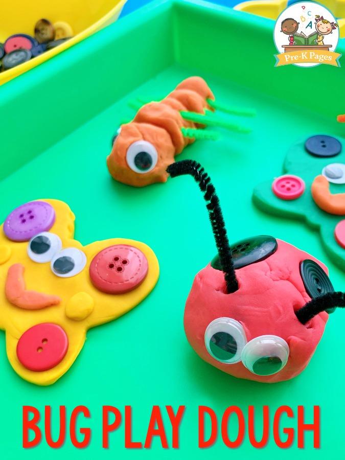 Play Dough Ladybug
