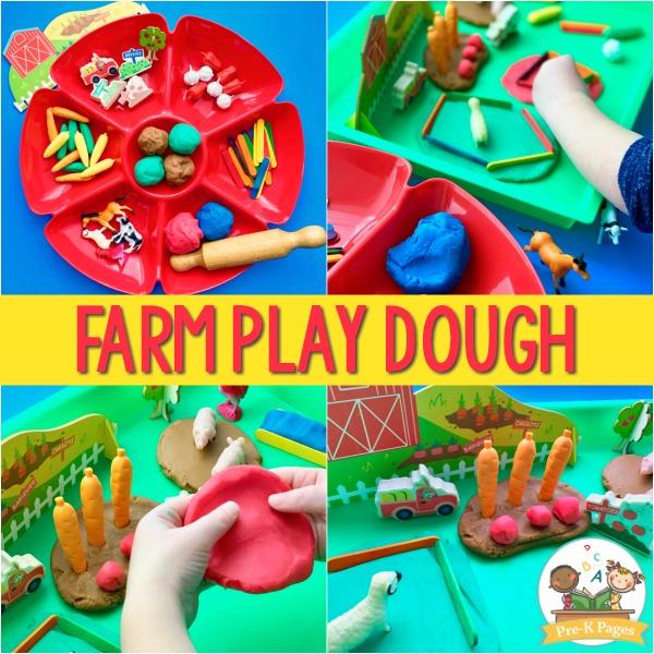 Play Dough for Farm Theme