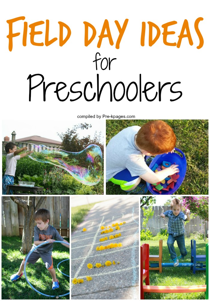 Fun Field Day Ideas for Preschool