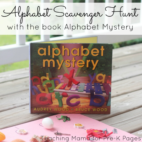 Alphabet Scavenger Hunt Activity