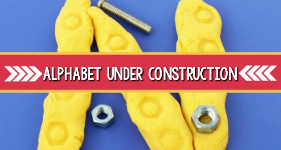 Alphabet Under Construction: Fine Motor Activity