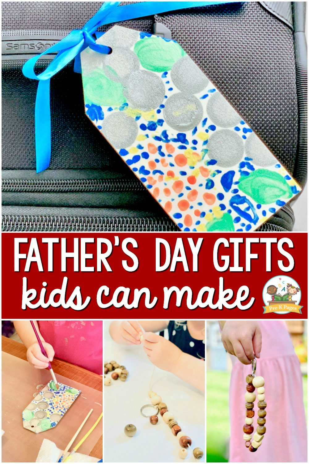 Father's Day Gifts Kids Can Make for Dad