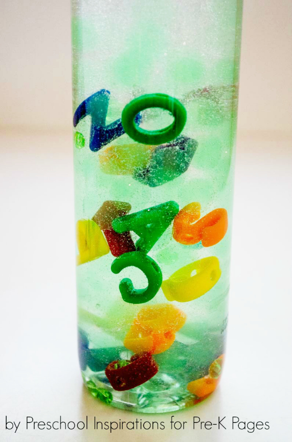 LMNO Peas Alphabet Bottle