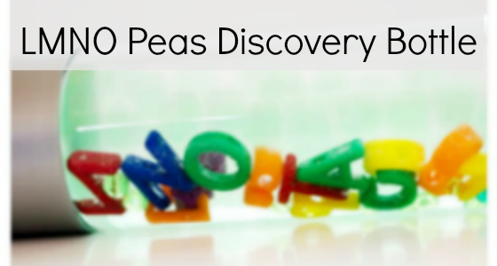 LMNO Peas: Alphabet Discovery Bottle