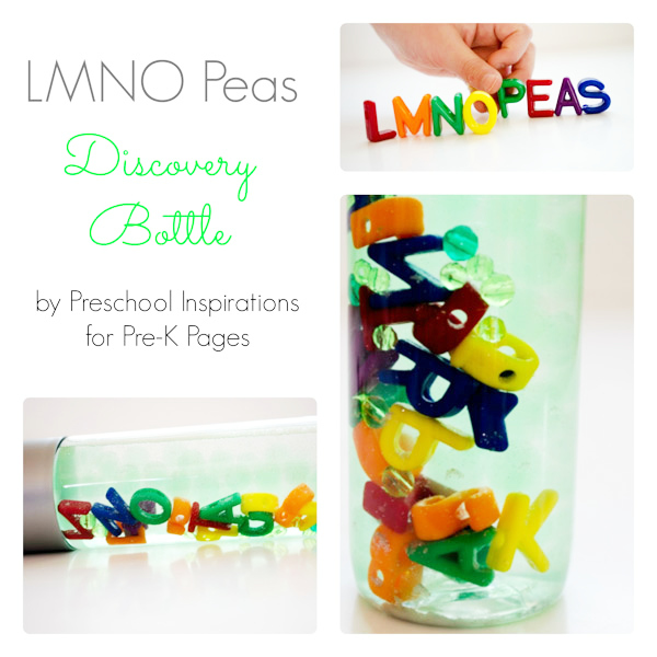 LMNO Peas Discovery Bottle