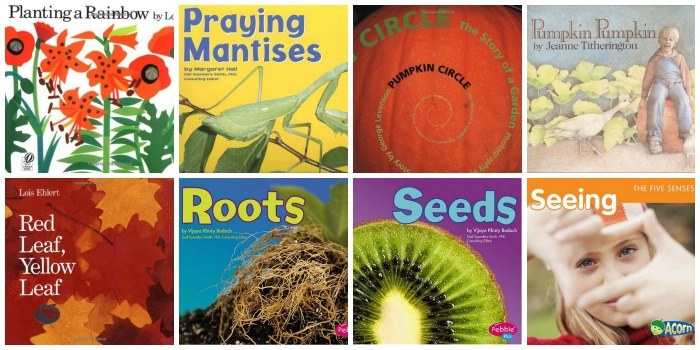 Plant and Garden Science Books for Preschool