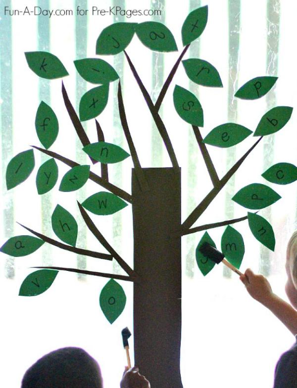 build an alphabet tree