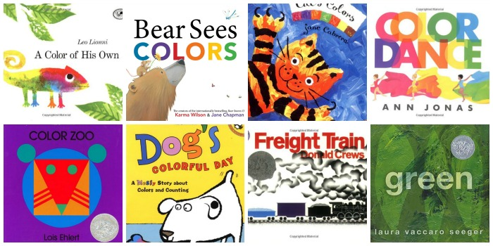 Books About Colors for Preschoolers