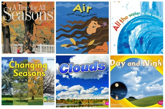 Day and Night Earth Science Books for Preschoolers