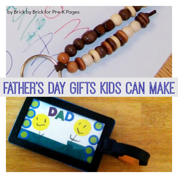 fathers day gifts preschoolers make