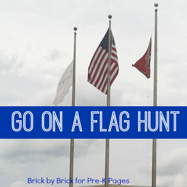 go on American flag hunt