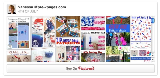 July 4th pinterest board
