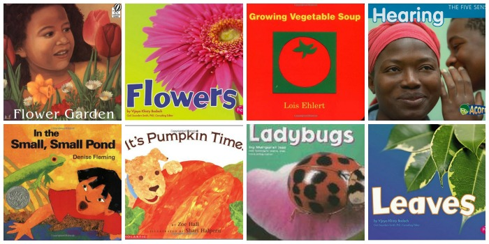 Science Books About Gardens for Preschool