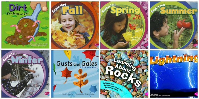 Books About Seasons and Weather for Preschool