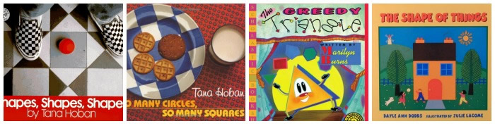 Books About Shapes for Preschoolers