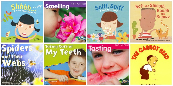 50 life science books for preschool