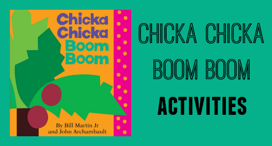 image relating to Chicka Chicka Boom Boom Printable known as Chicka Chicka Growth Growth Things to do
