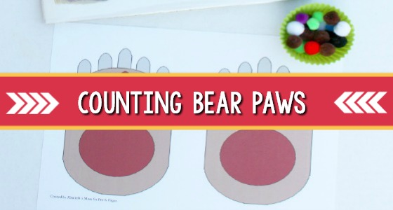 Bear Counts: Counting on Paws