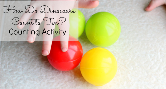 How Do Dinosaurs Count to Ten? Activity